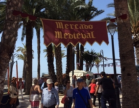 Benidorm returns to the Middle Earth with a Medieval Market at the end of the week.